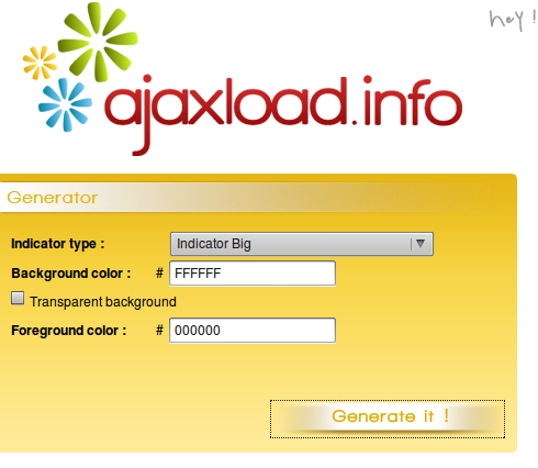 Ajaxload.info