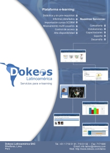 Publicidad Dokeos en Learning Review