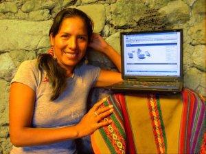 Irma Alvarez traduzco Dokeos a Quechua