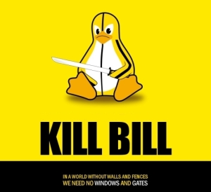 Linux Kill Bill