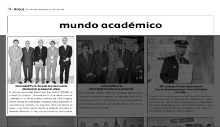 Dokuda en El Comercio